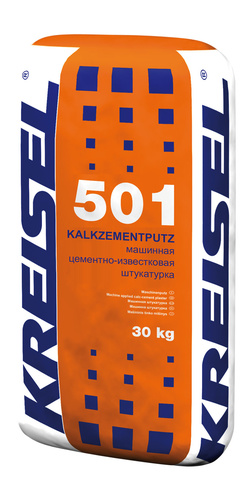Машинная штукатурка KALKZEMENT-MASCHINENPUTZ 501 Kreisel